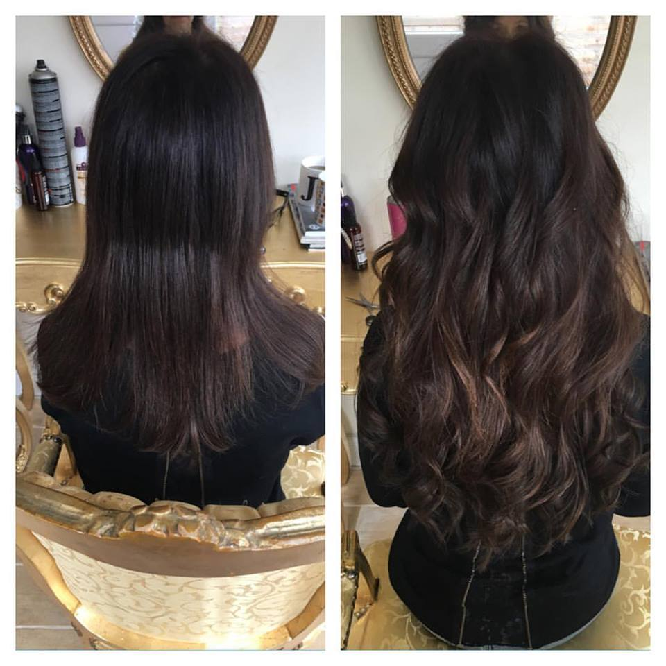 london hair extensions for short hair