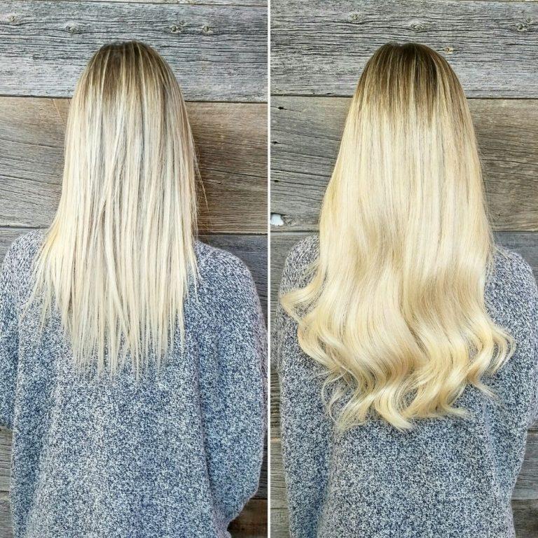 LA weave hair extensions London