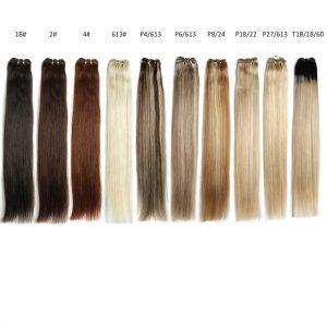 Beauty Platinum Brazilian Straight Hair Weave Bundles 24″Inch Remy Hair Extensions